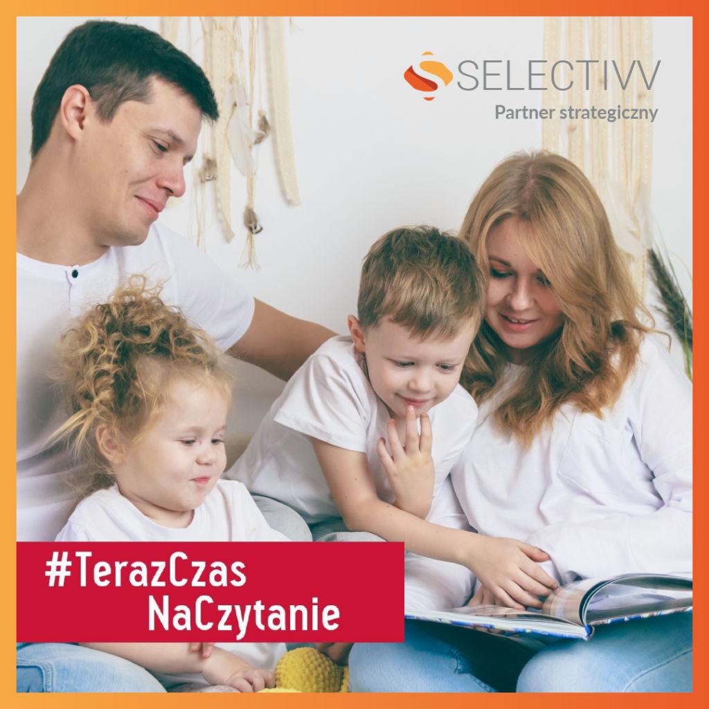 Selectivv. Partner strategiczny akcji #TerazCzasNaCzytanie