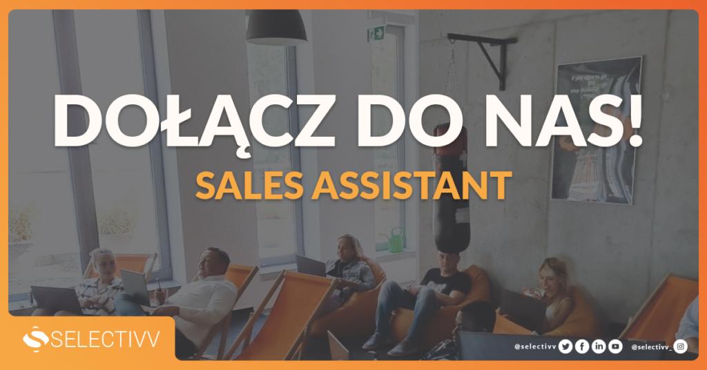 Sales Assistant - ogłoszenie