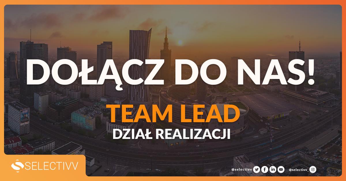 Team lead rekrutacja